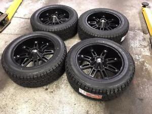 "20"" RDR Wheels 6x135/6x139.7 and All Terrain Tires 275/55R20 (FORD, CHEVY, GMC 1500)"