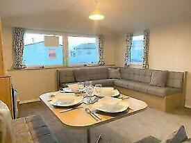 2 BEDROOM DOUBLE GLAZED CARAVAN FOR SALE IN TOWYN, NORTH WALES COAST