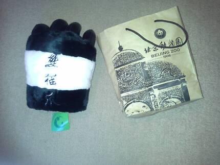 Beijing zoo panda claw glove