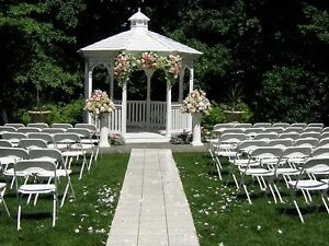 Chairs , tents , tables , food warmers ,cutlery , speaker rental Oakville / Halton Region Toronto (GTA) image 2