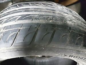 EN: 2x Tires Nexen N5000 205 55 16 80% good, Quality tires
