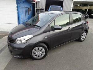 2012 Toyota Yaris NCP131R YRS Grey 4 Speed Automatic Hatchback Sylvania Sutherland Area Preview