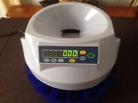 Coin counter / sorter - Sterling - AC mains