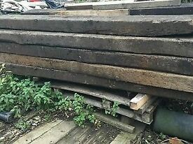 Reclaimed Railway Sleepers -New and Used