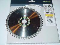 3x fine Festool Blades 491952 TS55 160mm x 20mm x 48T brand new