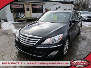 2012 Hyundai Genesis LOADED PREMIUM EDITION 5 PASSENGER 3.8L - V