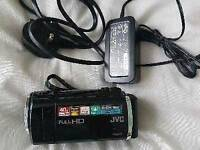 Jvc digital camcorder full hd + 8gb sd card
