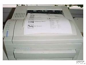 HP Laserjet 4L B/W laser printer + new spare toner cartridge.
