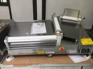 used and brand new dough sheeters
