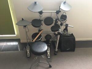 Ashton Electronic Drumkit New Town Hobart City Preview