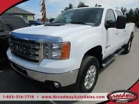 2011 GMC Sierra 2500 HD DURAMAX DIESEL LOADED SLT MODEL 5 PASSEN