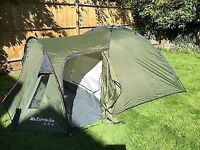 Eurohike Avon 3 man tent. Only used once, excellent condition.