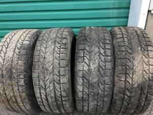 4X 205 50 16 BFGoodrich Winter tires Pneus D`hiver