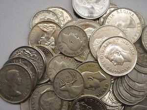 Silver Quarters- Old Coins