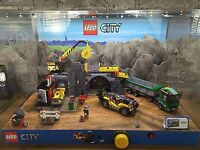 Lego 4204 Lego City Gold Mine Shop Display Complete with Light & Sounds £120 Ono