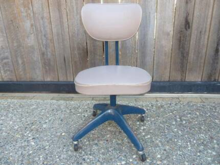 Mid Century Industrial Office Chair - Retro