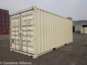 New 20' Containers in Beige landed in Nambour for 2956 ex GST. Nambour Maroochydore Area Preview