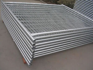 Temporary Fencing Panel - Welded and Chain Link Mesh
