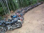 Salvage Motorcycle
