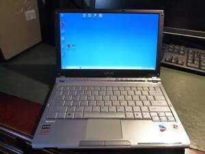 SONY VAIO NOTEBOOK VGN-TX17GP Merewether Newcastle Area Preview