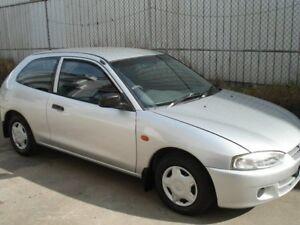 2002 Mitsubishi Mirage CE MY2002 Silver 4 Speed Automatic Hatchback
