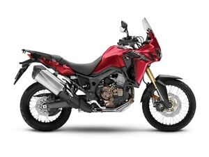 2017 Honda Africa Twin DCT Candy Red