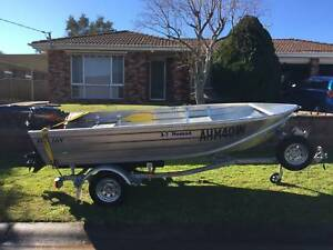 2013 - Seajay Nomad 3.7m - 18 HP Tohatsu and Trailer Bateau Bay Wyong Area Preview