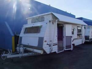 1998 GAZAL ZODIAM IMPALA 16′ POP TOP SINGLE AXLE CARAVAN Clontarf Redcliffe Area Preview