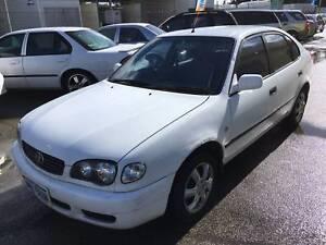 2000 Toyota Corolla Ascent Seca Auto Lift back $2799
