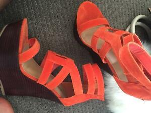 Beautiful shoes from shoedazzle & justfab & a bag bonus