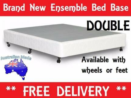 BRAND NEW Double Size Ensemble Bed Base AUSTRALIAN MADE