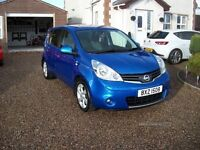 2011 NISSAN NOTE N-TEC (ONLY 21k MILES, MINT)