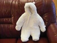 Mothercare fluffy snowsuit