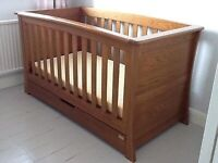 Mamas and Papas Ocean Cot-Bed and Chest of Drawers