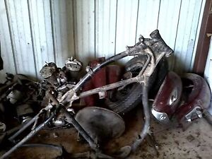 Looking to buy Harley 45 basket case or parts