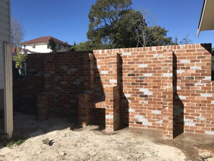 Bricklaying crew available