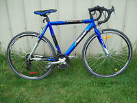 LIKE NEW SUPERCYCLE MEDALIST 7005 ALUMINUM ALLOY FRAME AND WHEEL
