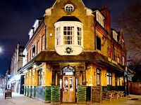 Bar Staff at the Railway Tavern - starting salary £7.70 p/h