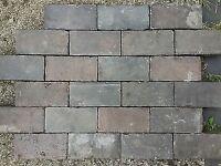 Reclaimed Staffordshire Blue Brick pavers