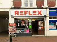 Reflex Records Gosport Franchise with stock for sale