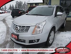 2013 Cadillac SRX LOADED AWD 5 PASSENGER 3.6L - V6.. LEATHER.. H