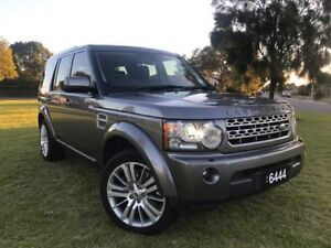 2010 Land Rover Discovery 4 Series 4 10MY TdV6 CommandShift SE Grey 6 Speed Sports Automatic Wagon Somerton Park Holdfast Bay Preview