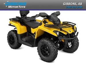 2017 Can-Am Outlander MAX XT 570 Yellow