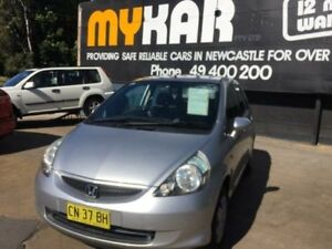 2007 Honda Jazz MY07 GLi Silver 5 Speed 5 SP MANUAL Hatchback