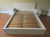 IKEA Malm Kingsize Bed Frame only 3 months old (209/165 )