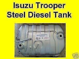 Brand New Isuzu Trooper diesel fuel tank LWB 84-04, SWB 92-04, 12 month warranty