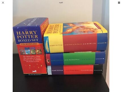 HARRY POTTER It's Magic set of 4 books plus 3 others