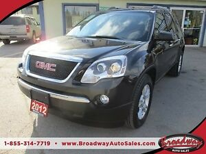 2012 GMC Acadia FAMILY MOVING SLE-1 MODEL 8 PASSENGER 3.6L - V6.