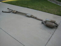 BMW E65 / E66 Full Exhaust front to back with mufflers - $500