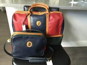 ALFRED SUNG VINTAGE LADIES LEATHER HANDBAGS ** BRAND-NEW**